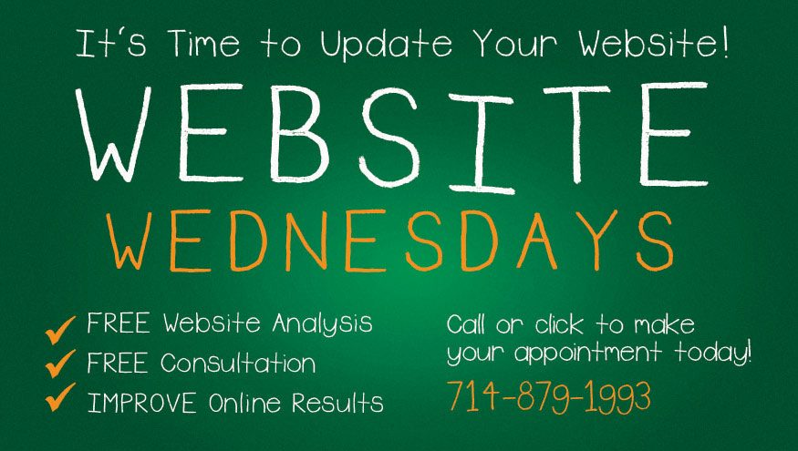 Website Wednesdays at Graves Advertising in Fullerton CA