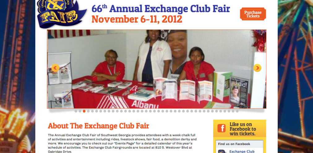 Exchange Club Fair of Albany Georgia